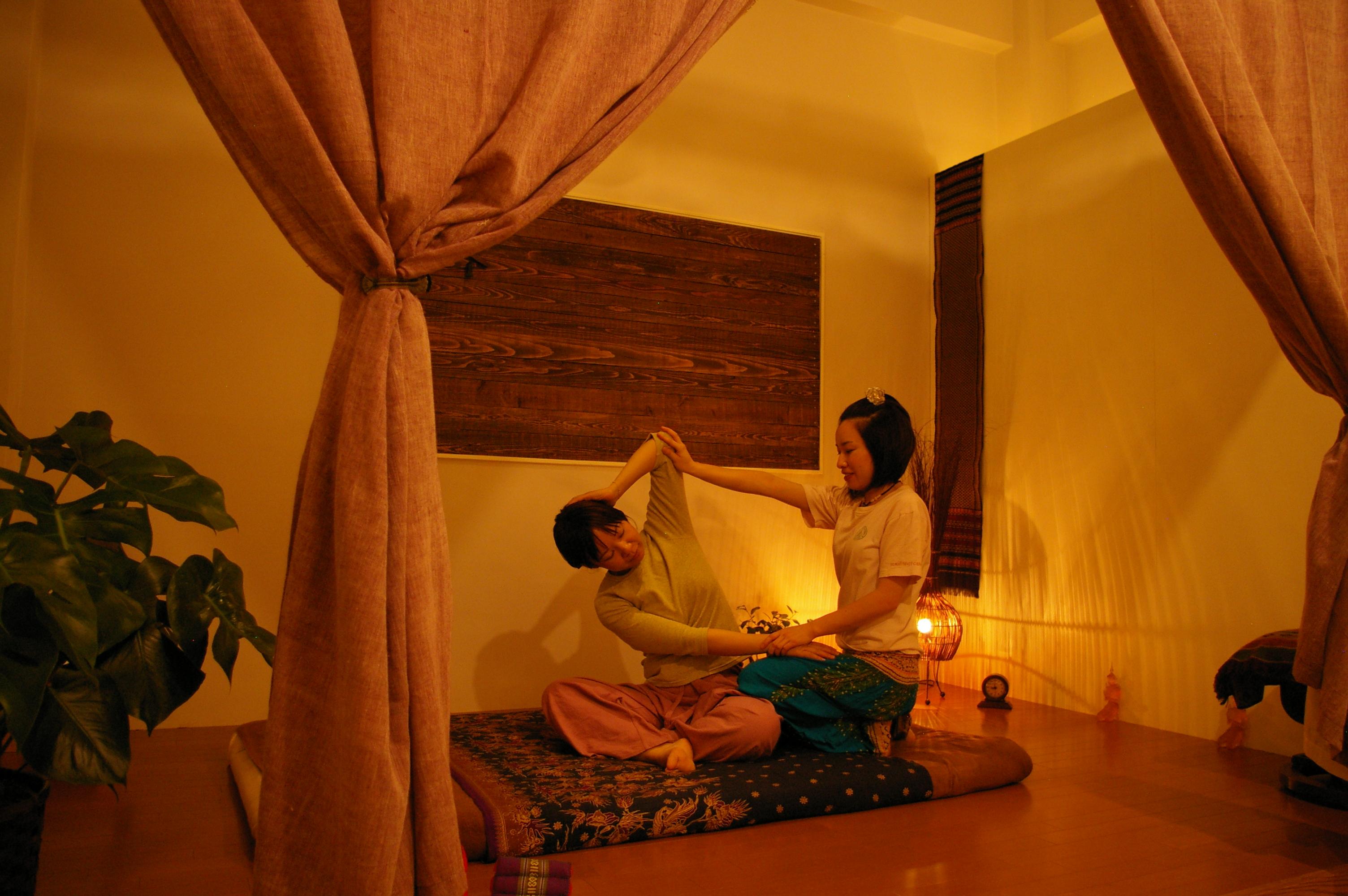 タイ古式マッサージとはのイメージ